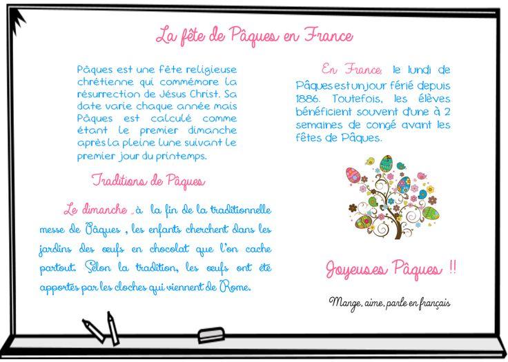 La fête de Pâques en France