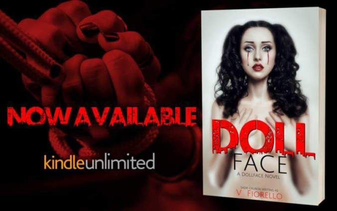 .(. (.  .).).). now available on  KINDLE UNLIMITED . (.(.  .).).)..  DOLL FACE by V Fiorello. Now available on Kindle & Kindle Unlimited! Get your copy today!    Amazon http://amzn.to/2xWXaVM     #DollFace #VFiorello #SadieGrubor #DFB925 #eroticromance #eroticsuspense #erotica #suspense #thriller #romance #romancereaders #romancewriters #romanceauthors #books #ebooks #mustread #oneclick #1click #PureTextualityPR #KU #KindleUnlimited    ABOUT THE BOOK  Hide the sharp objects and prepare your…