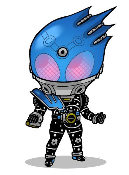 From Fourze, the newly introduced Kamen Rider Meteor