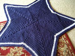 Free NFL Crochet Patterns | Dallas Cowboy Crochet Pattern