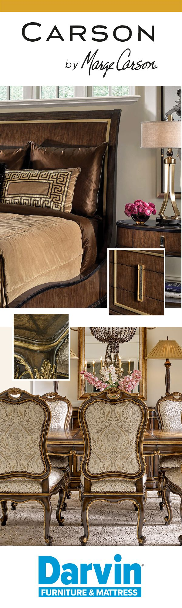 8 best carson by marge carson furniture images on pinterest