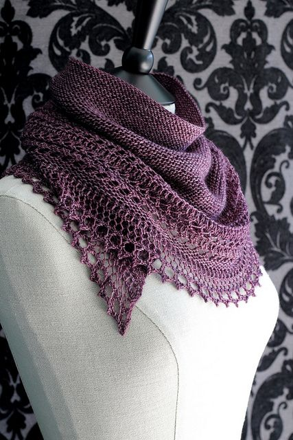 Having so much fun knitting this. Think there will be more than one of these.....  Henslowe by Beth Kling  by Owlish Flickr