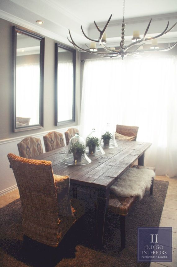 333 best images about finished pieces featured on etsy on for Dining room tables etsy