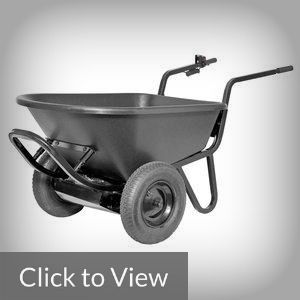 24 Volt Power Assist Wheelbarrow -  The 24 Volt Power Assist Wheelbarrow (PAW) is one of the electric or motorized wheelbarrows available in the market.  The feature that caught our attention from among the electric wheelbarrows is the simple design and approach of the equipment.