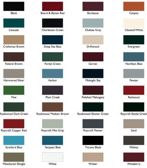 20 Best Images About Exterior Shutter Colors On Pinterest