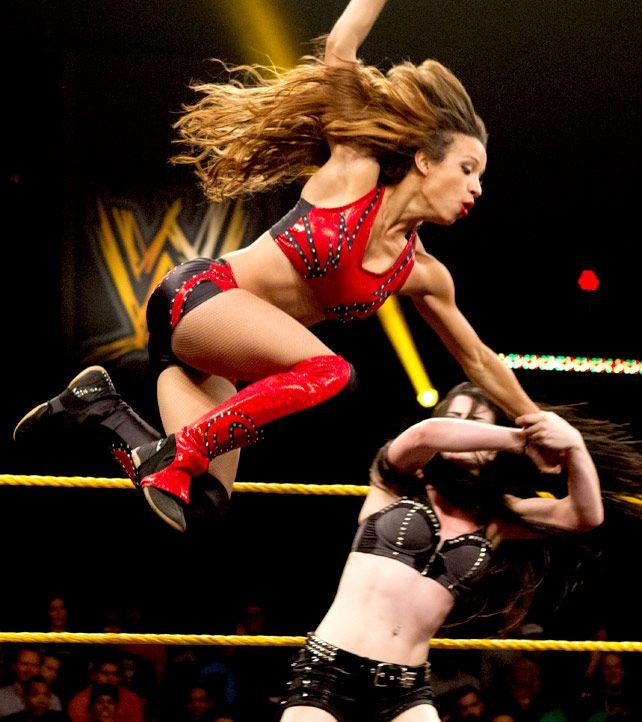 The WWE Divas in Training - The NXT Divas