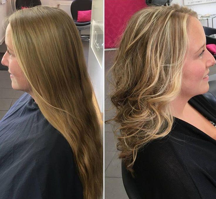 Мелирование карамельное фото до и после таким окрасом