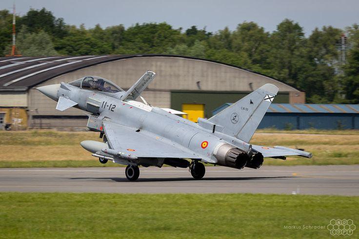 https://flic.kr/p/VdQSjD | Eurofighter Typhoon C.16-33 11-12 Ala 11 Spanish Air Force
