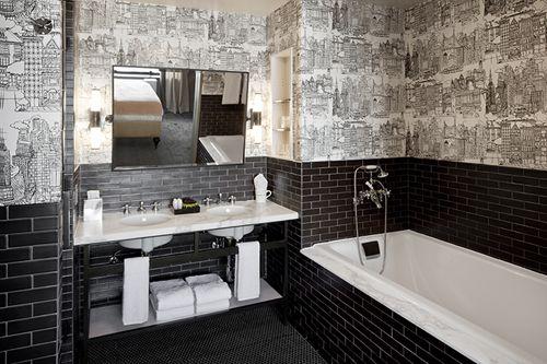 Charmant Furnishes The Soho Grand Hotel U2013 Grand Suites With Studio Sofield. Small  Grey BathroomsGrey Bathrooms DesignsBathroom ...