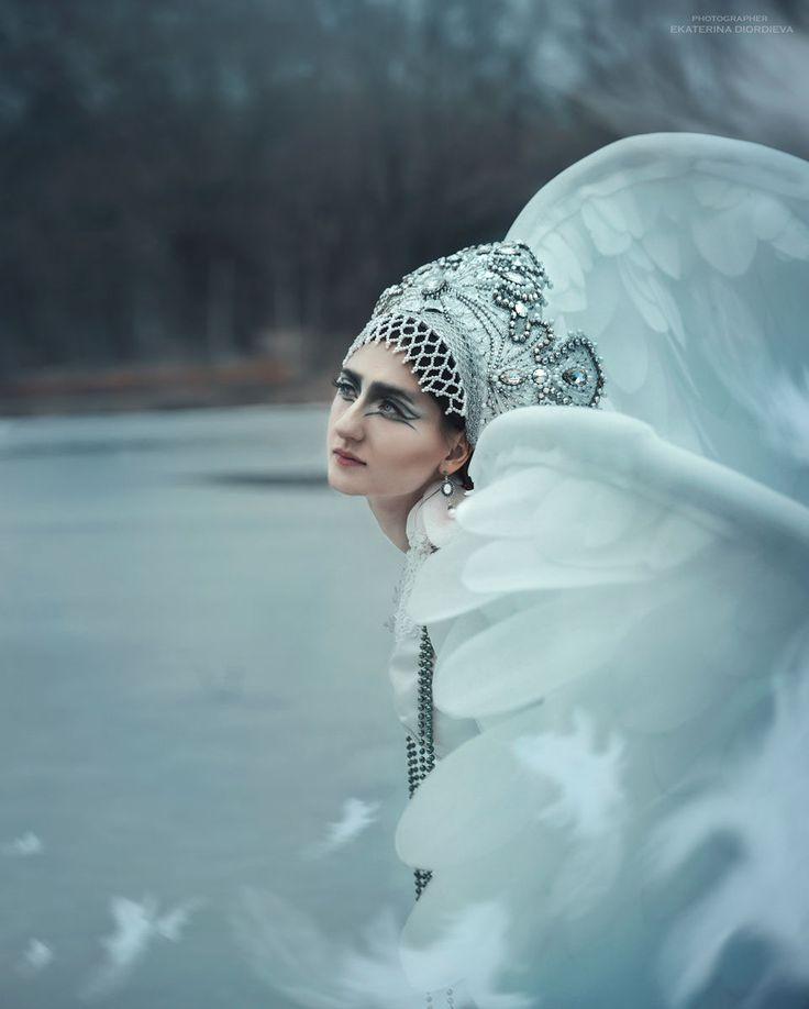 Царевна-Лебедь. The Swan Princess (1) by Ekaterina Diordieva on 500px