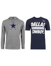 Kit Sudadera Nike NFL Dallas Cowboys con Capucha + Playera Nike NFL Dallas…
