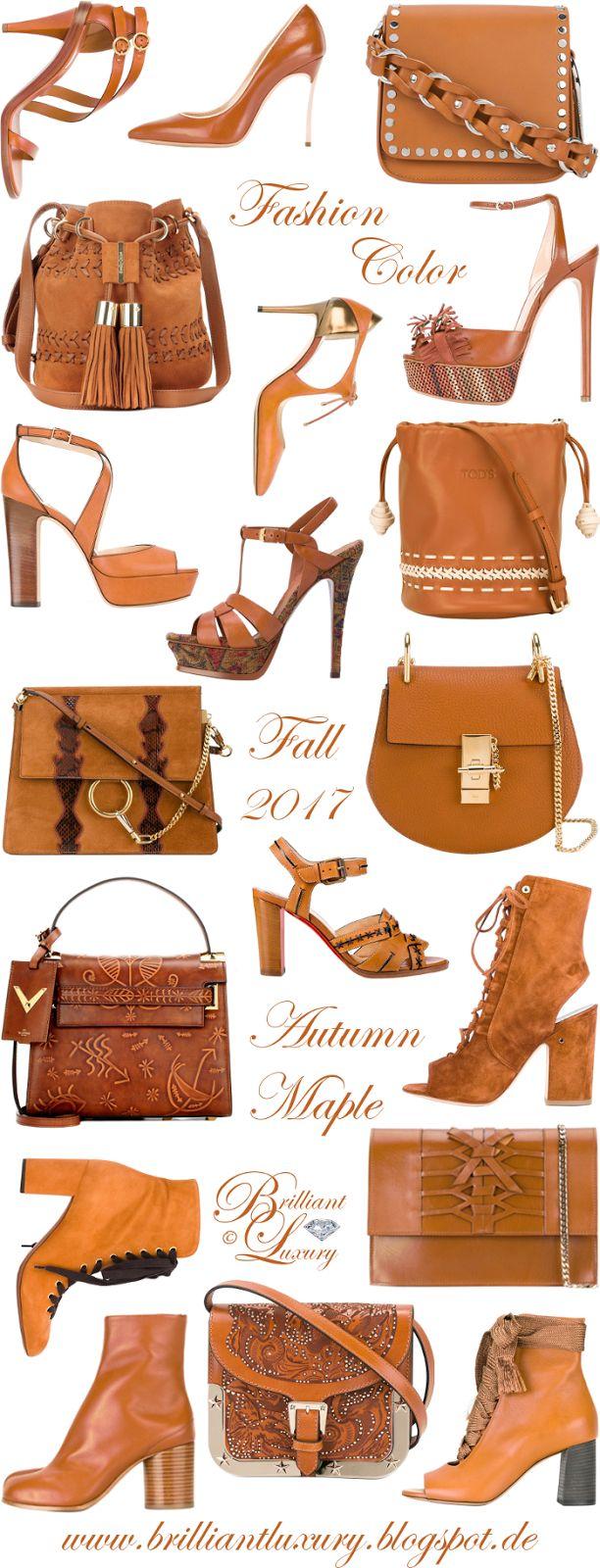 Brilliant Luxury ♦ Fashion Color Fall 2017 ~ autumn maple