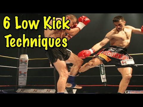 6 Muay Thai Low Kick Setup Techniques - YouTube