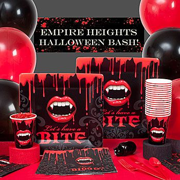 vampire halloween party ideas