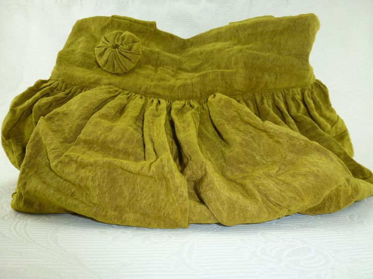 French+antique+golden+bag+antique+moire+fabric,+early+1900s.+Mustard+yellow+silk+tote.+Gold+moire+antique+shoulderbag.+by+AntiquePillows+on+Etsy