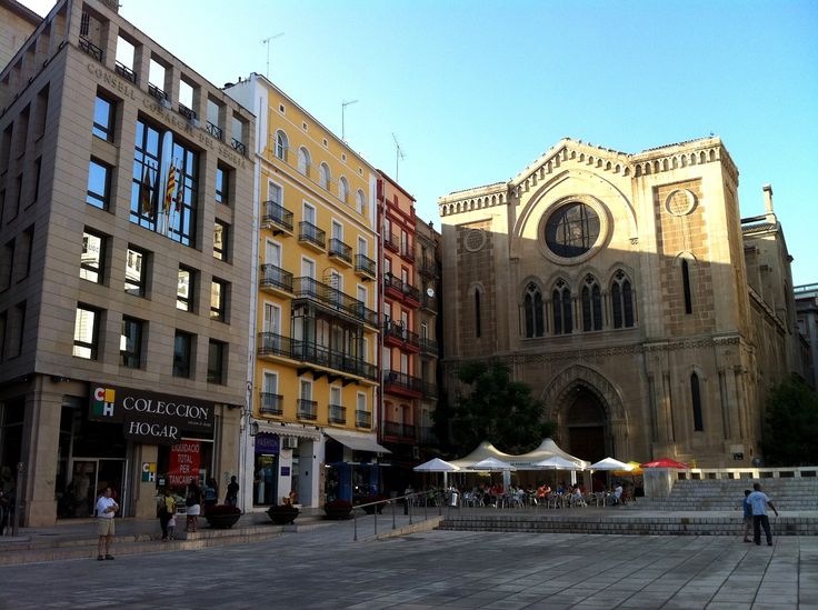 Plaça de Sant Joan, #Lleida, #Spain | #wikoftheday Want to visit #Catalonia? http://bit.ly/1vVklFs