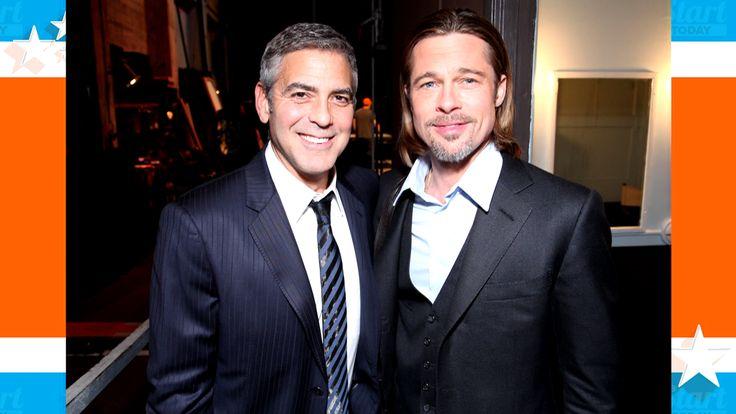 George Clooney: Latest prank on Brad Pitt will get me arrested