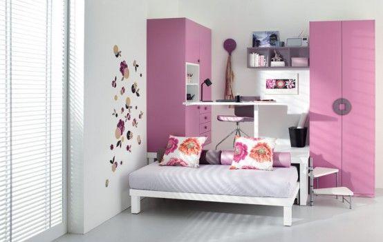 Colorful+Teenage+Loft+Bedrooms+by+Tumidei