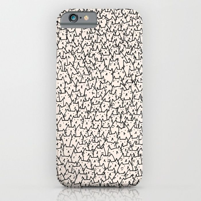 Buy A Lot of Cats iPhone & iPod Case by Kitten Rain. Worldwide shipping available at Society6.com. Just one of millions of high quality products available.