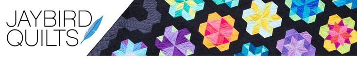 Jaybird Quilts Hexagon quilt along