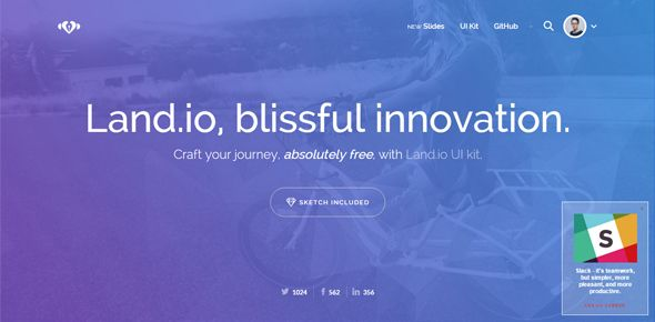 20 Free HTML Templates with High Impact Designs