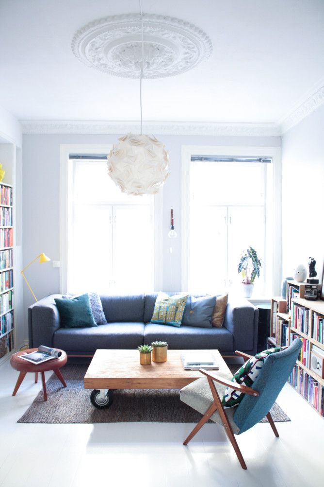 """A """"Charmingly Off-Level"""" Oslo Apartment"""