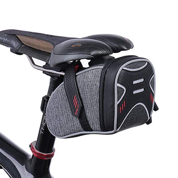 Waterfly Strap On Bike Saddle Bag Bicycle Seat Bag Cycling Wedge