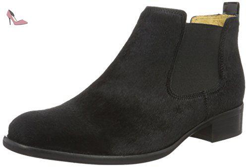 Gabor Shoes Gabor Basic, Bottes Femme, Gris (19 Anthrazit Kombi), 42.5 EU