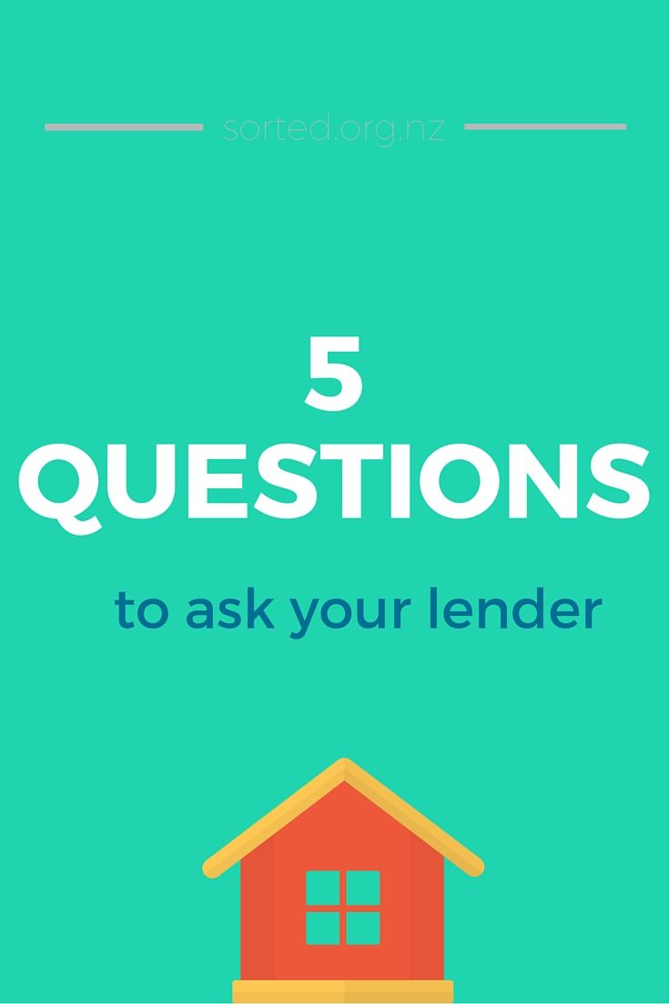 Before signing up for a mortgage, make sure you know all the costs! Here are 5 questions to ask your lender when buying a house.