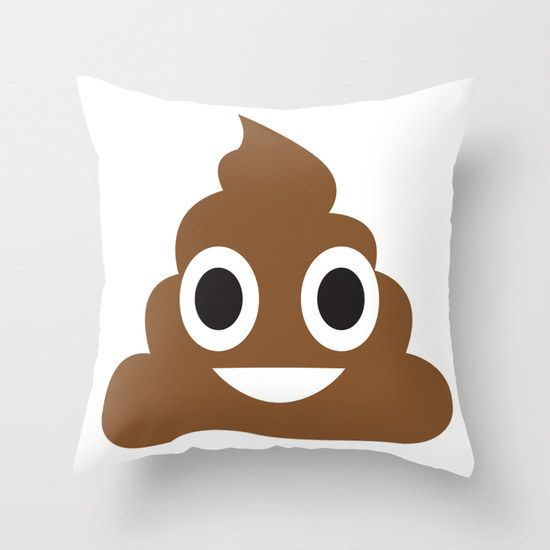 Another  Pillow | 24 Poop Emoji Gifts Literally Everyone Needs