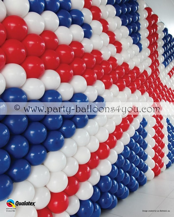 union jack balloon decoration Nothing to do with the dance... I just love it so it's pinned! :P