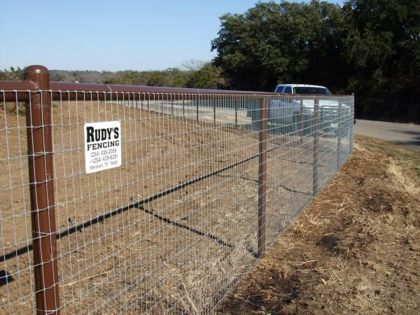 Rudy s fencing steel pipe hollimig