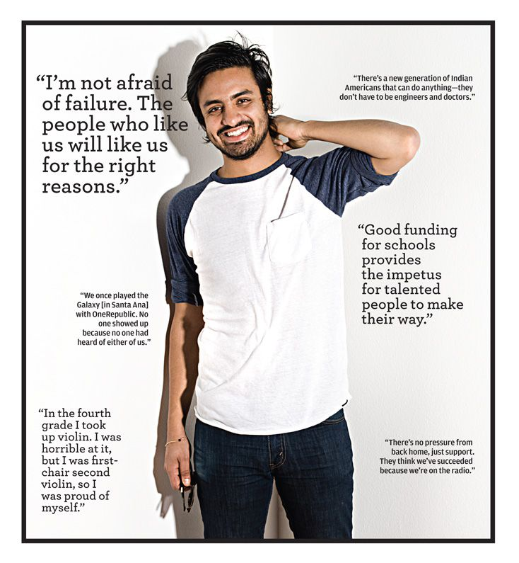 """""""There's a new generation of Indian Americans that can do anything-- they don't have to be engineers or doctors."""" -Sameer Gadhia from Young the Giant...     Saturday can't come soon enough :)"""