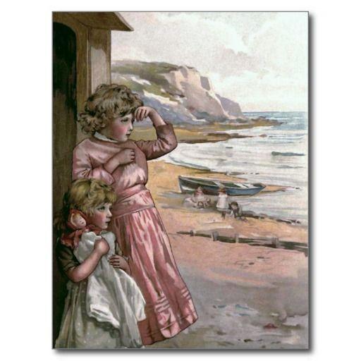 """Illustratie van het Boek """"van de Boot van de vader Wens Kaarten"""