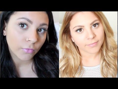 How to: Black to Blonde Hair (With Less Damage!) - YouTube