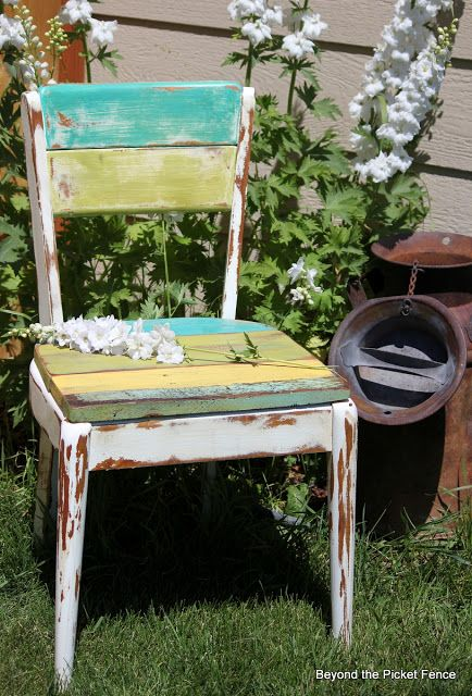 Chippy, Happy Chair At Beyond The Picket Fence