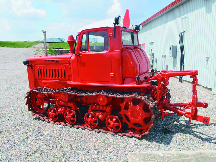 Rare Russian crawler tractor