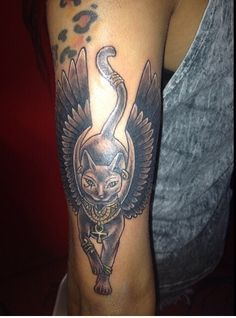 Bastet Goddess Tattoo