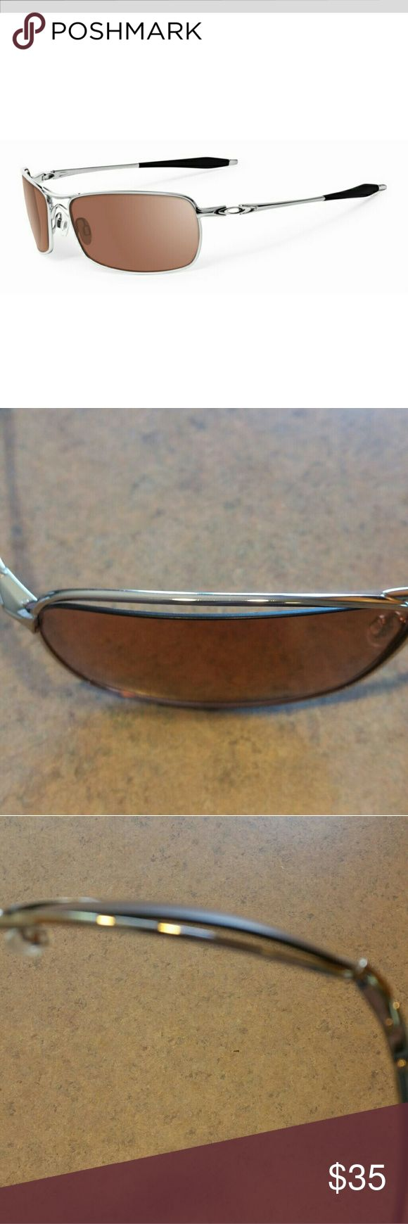 oakley frames without lenses gy5m  Bent* Oakley Crosshair 20 OO4044-05 *Bent Lens And FramesThe