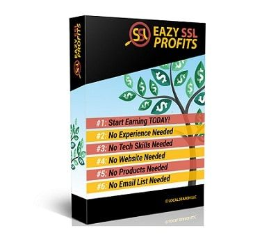 Eazy SSL Profits – what is it? This is literally a ground-breaking high-end product … it includes a software to detect and mrket to websites owners who does not have a secured website.