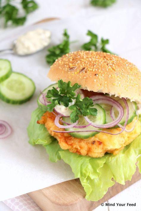 Kipburgers op een broodje - Mind Your Feed