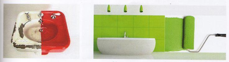 Soluciones para cuartos húmedos #pintura #decoración