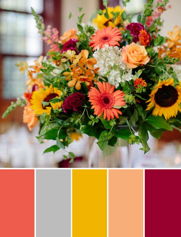 10 Amazing Fall Wedding Flower Arrangement Ideas 2014 |
