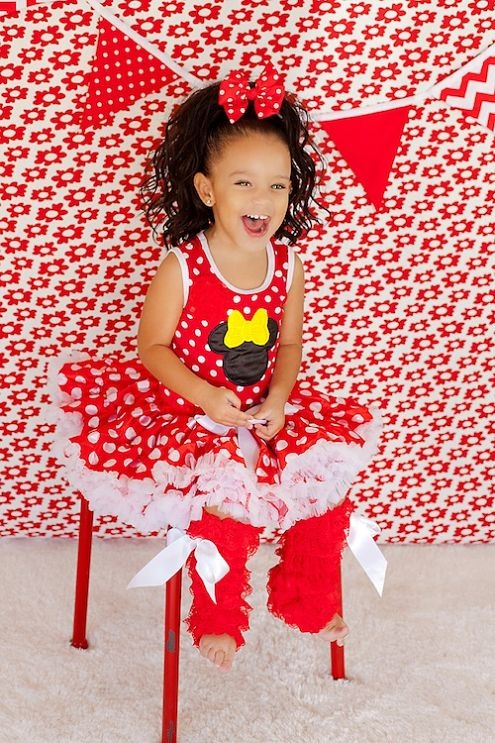 17 Best Images About Red Minnie Mouse Birthday On