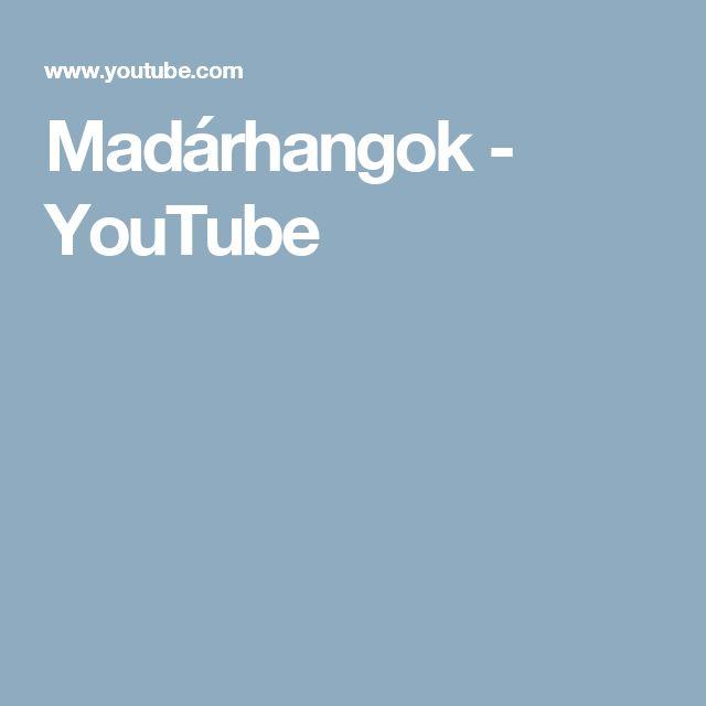 Madárhangok - YouTube