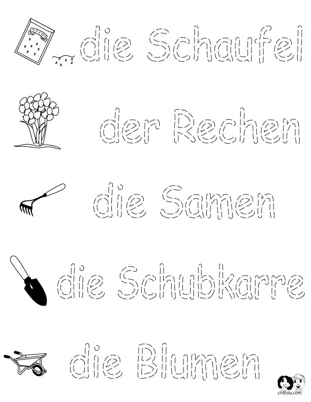 german worksheets for kids spring printout german german activities for children deutsch fr