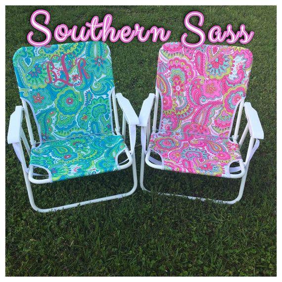 Monogrammed Beach Chair Www Etsy E Southernsbybrit Things I Want Need Pinterest Chaironogram