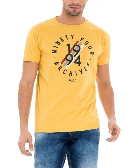 Camiseta de hombre Salsa slim