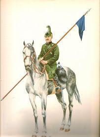 Regio Esercito - Soldato del Reggimento di Cavalleria Savoia, 1915