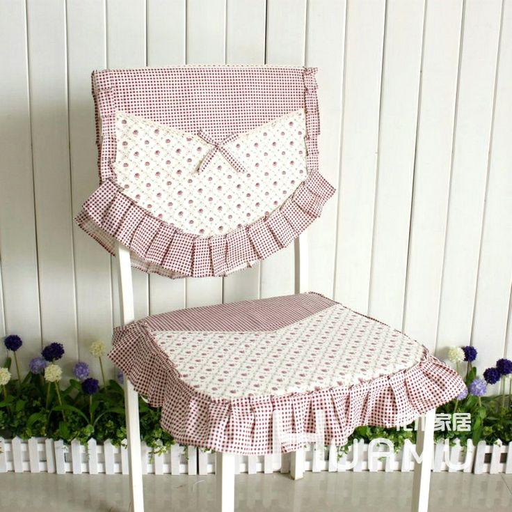 Home tecido almofada macia capa decadeira rústico pequeno 100% algodão patchwork laciness pequena rosa